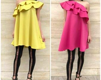 Pretty Doll Dress / Pink dress / yellow dress Party dress summer 2017 by Rocklessa