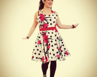 Dress style 50 years. Rockabilly Pinup
