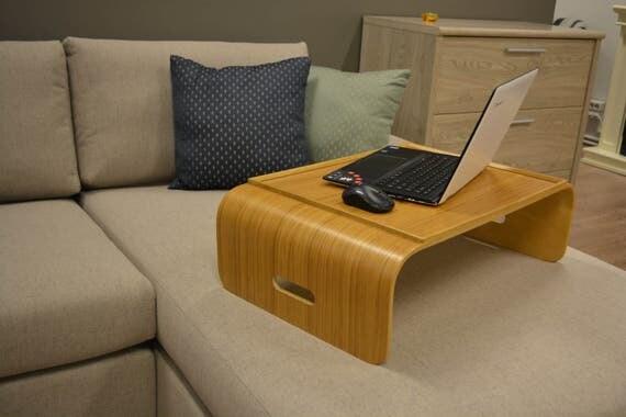 Laptop Desk Breakfast Tray Small Wood Lap Bed