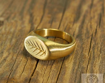 Replica Roman Ring Branch Jewelry Palm Antique Ancient