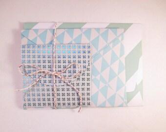 Set of 3 envelopes Mint