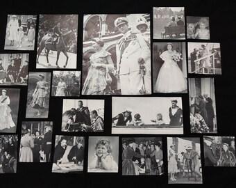 British Royal Family Vintage Scraps Grab Bag for Scrapbooking, Junk Journalling, Collage