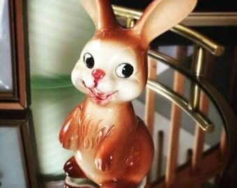 Goebel Brown Bunny Figurine 1960's
