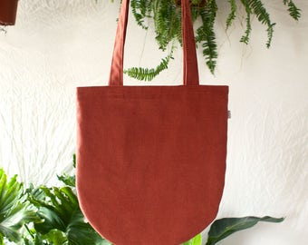 Heavy Half-Circle Tote