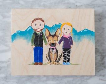 Custom Hand Painted Portraits