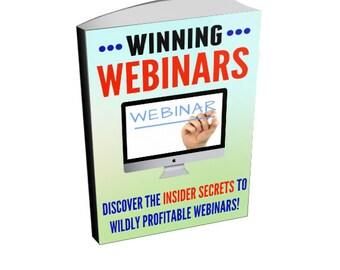 Winning Webinars - Profitable Webinar Creation Ebook