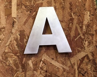 Metal Letters & Numbers (Alum) A-Z, 0-9