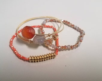 Stretch with Bangle Stack