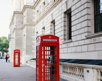 Telephone Booth in London Photo