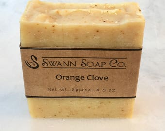 Orange Clove Handmade Soap