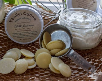 Whipped Body Butter - Vanilla Cocoa - Beeswax