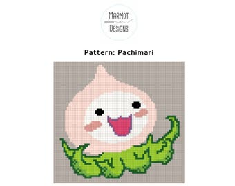 Overwatch Cross Stitch Pattern - Pachimari - PDF Digital Download