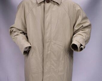 GIANNI VERSACE Jacket Parka Coat Jacket Trench coat Sz 48 Man Man G17