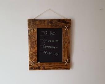 Hanging Chalk Board
