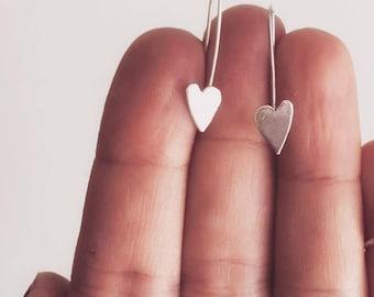 Loveheart earrings