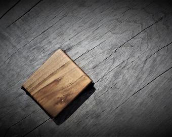 Wood wallet/mens wallet/wooden wallet/mens purse/wood purse/small wallet/mini wallet/wood wallet/mens wallet/wallet/brown wallet