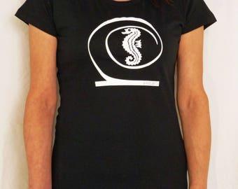 khamo Women's Regular Fitted Shirt - Seahorse