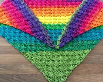 Rainbow Shawl