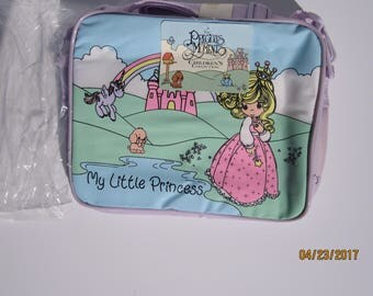 Vintage New old stock precious moments applause Lunch box/bag 1994
