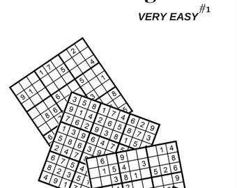 Sudoku Very Easy Puzzle Page #1