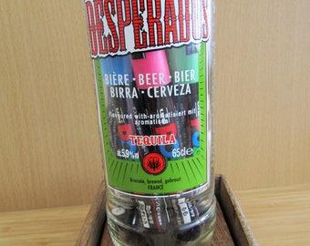Desperado Recycled Beer Bottlle Utensil Pot