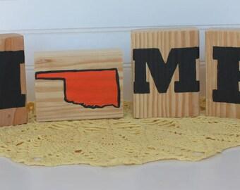 HOME Decorative Blocks-Oklahoma State