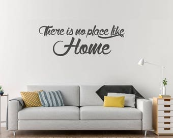 There Is No Place Like Home Wall Decal, Wizard Of Oz Quote Decals, Wall Part 33