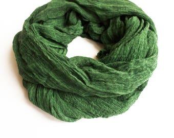 Green Shawl, Spring Shawl, Elegance Shawl