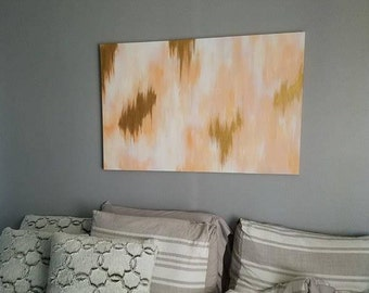 Hand painted 20x30 Canvas, Wall Art, Home Decor