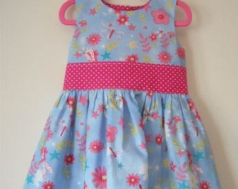 Handmade Girls Age 2-3 Years Party Dress