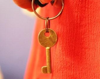 Vintage Key keychain