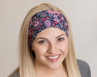 BUY 1 GET 1 FREE - Boho Headband - Womens Headbands - Yoga Headband - Hippie Headband - Hair Accessories -  Hippie Flower Headband RiptGear