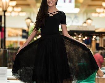 Custom Tulle Skirt. Midi.
