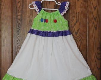 Buzz Light Year Inspired Dress