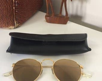 VINTAGE Ray Ban Bausch & Lomb round sunglasses