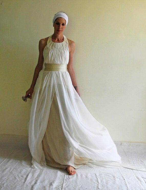 abbastanza Boho abito da sposa vestito da dea greca Abito da sposa RC44