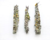 Sage + Lavender//Smudge stick//Full moon smudge kit//Wild harvested//Space clearing//Spirituality//Meditation//Ritual//Housewarming gift