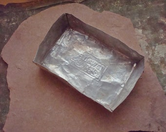 Aluminum Vintage Betty Crocker Disposable Aluminum Cake Pan 1960s Answer Cake
