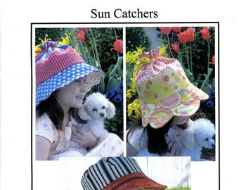 Buttercup Quilts Sun Catchers Bucket Hats Petals Little Mister Boys Girls Toddler Uncut Sewing Pattern 2007