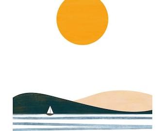 Summer big print