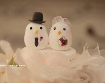 birds  Wedding Cake Topper (K347)