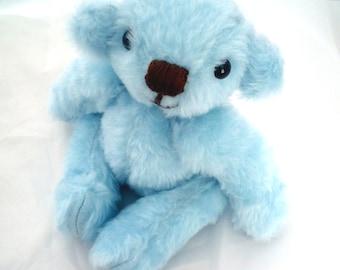 "12 inch blue Teddy Bear  ""Skyler"""