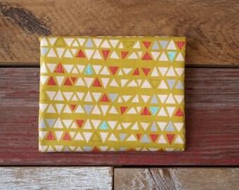 MODA Ninja Cookies Yardage Geometric Triangles Yellow 30543 16 Chartreuse Jenn Ski