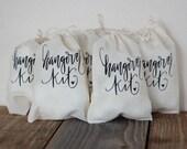 Bachelorette Party Hangover Kit Survival Kit Wedding Drawstring Bag Hotel Guest Party Favor