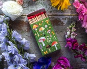 ON SALE TODAY! | Mushroom Matchbox | Wooden Matches