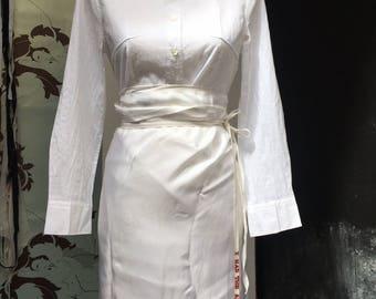 titty cross Ann Demeulemeester blouse