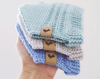 Custom Labels for Crocheted Items, Fold Over Labels, Clothing Labels, Crochet Labels, Knitting Labels