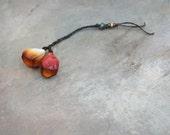 sunshine tulip pod beads