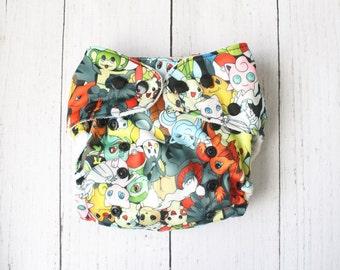 Pokemon pocket diaper