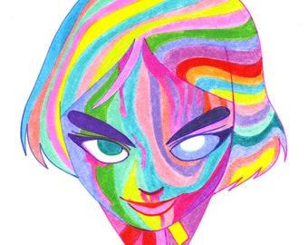 Rainbow Lady E